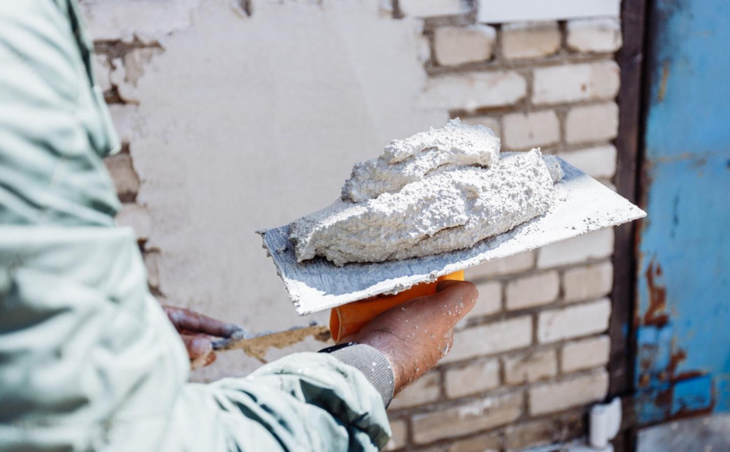 Теплоизоляционная перлитовая штукатурка на цементной основе