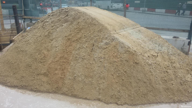 Применение строительного песка и его разновидности