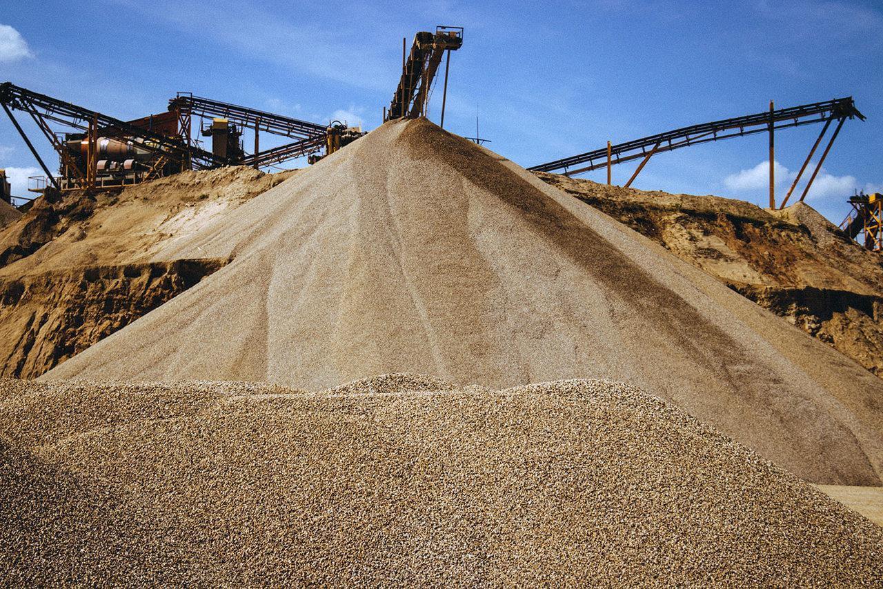 Обогащенный песок