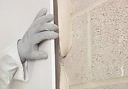 Клеевой метод крепления гипсокартона на стены