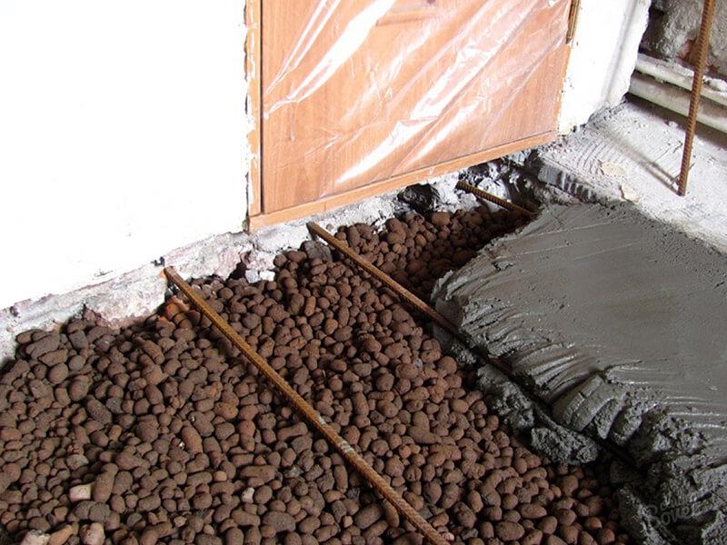 Пропорции пескобетона и керамзита для стяжки пола цементом