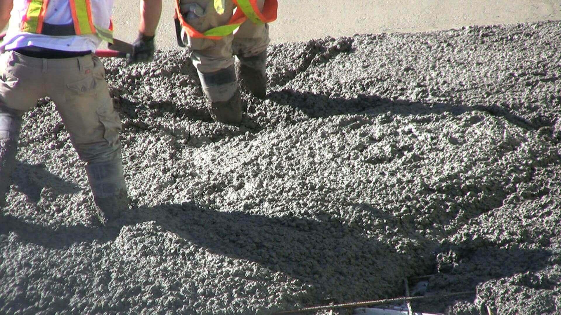 Сколько сохнет цемент: схватывание, твердение